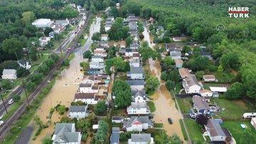 Henri Kasırgası, tropikal fırtına olarak ABD'ye ulaştı: Binlerce ev elektriksiz kaldı!