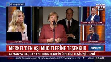 Merkel'den aşı mucitlerine teşekkür