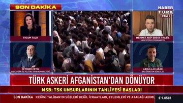 Milli Savunma Bakanlığı'ndan 'tahliye süreci' açıklaması: Türk askeri Afganistan'dan dönüyor