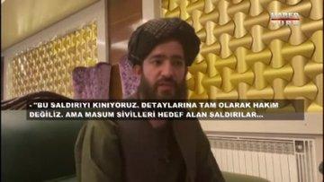 İntihar saldırısından sonra Taliban ilk açıklamayı Mehmet Akif Ersoy'a yaptı