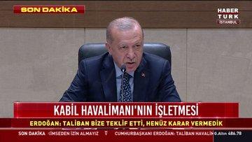 SON DAKİKA... Cumhurbaşkanı Erdoğan'dan önemli açıklamalar: Taliban ile görüşme yapıldı