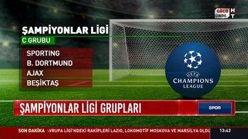 Şampiyonlar Ligi grupları