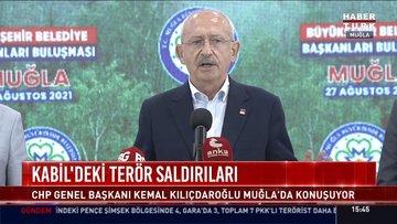 CHP lideri Kılıçdaroğlu Muğla'da konuştu