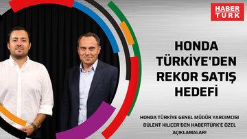 Honda Türkiye'den rekor satış hedefi