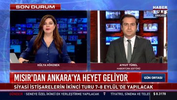 Türkiye-Mısır siyasi istişarelerinin 2. turu Ankara'da gerçekleşecek