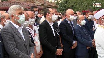 Tedavi gördüğü hastanede şehit olan Uzman Çavuş İsmail Şebelek, Trabzonda son yolculuğuna uğurlandı
