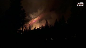 ABD'nin California eyaletinde yangın! 756 kilometrekare alan kül oldu