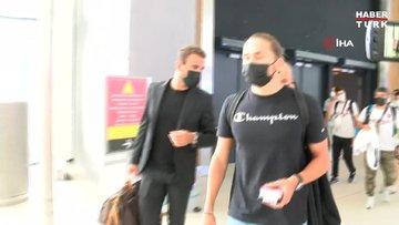 Miguel Crespo İstanbul'a geldi