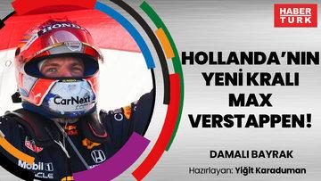 Hollanda'nın yeni kralı Max Verstappen! | DAMALI BAYRAK