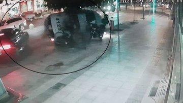 Çorum'da şüpheli aracı kovalayan polis ekibi kaza yaptı: 2 polis yaralandı