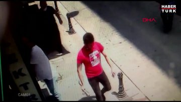 Kadıköy'de engelli çocuğun tedavi parasını çalan şüpheli kamerada!