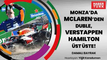 Monza'da McLaren'den duble, Verstappen ve Hamilton üst üste! F1 İTALYA GP İNCELEMESİ | DAMALI BAYRAK