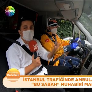 İstanbul'da ambulans olmak zor!