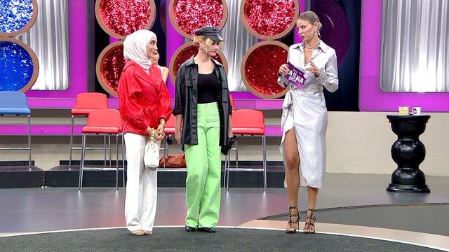 Tanya ile Büşra'nın stil düellosu!