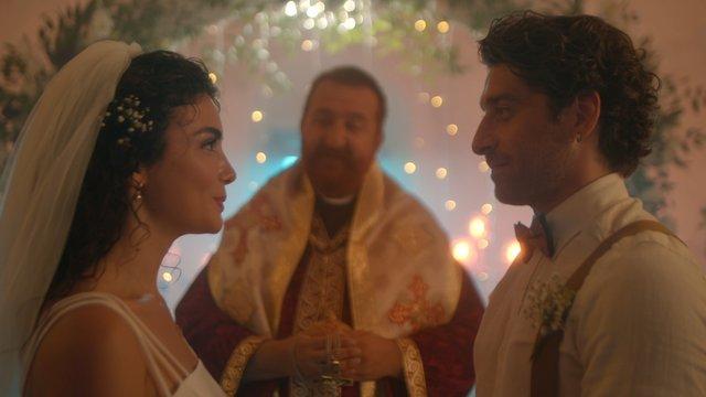 Havva ve Adam'ın kilise düğünü!