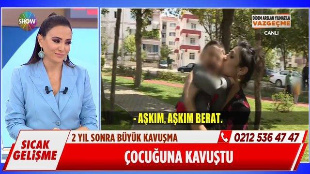 Didem Arslan Yılmaz, Risale'yi 2 yıl sonra çocuğuna kavuşturdu!