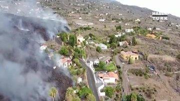 La Palma'daki yanardağ lav püskürtmeye devam ediyor!