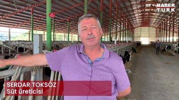 Süt üreticisi Serdar Toksöz anlatıyor