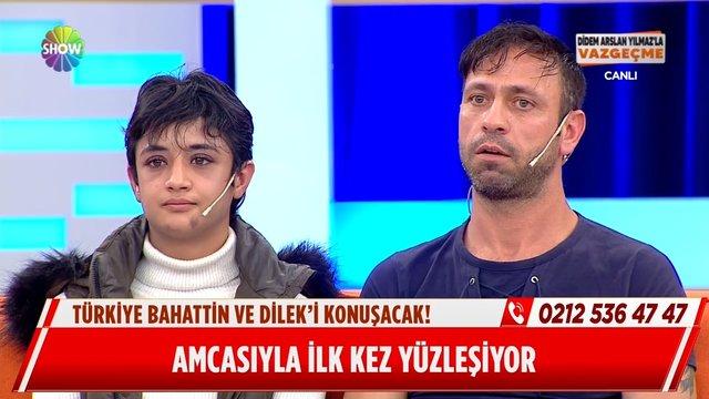 Dilek'in amcası canlı yayında iddiaları yalanladı!