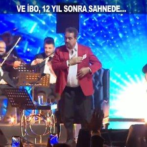 İbrahim Tatlıses 12 yıl sonra konser verdi!