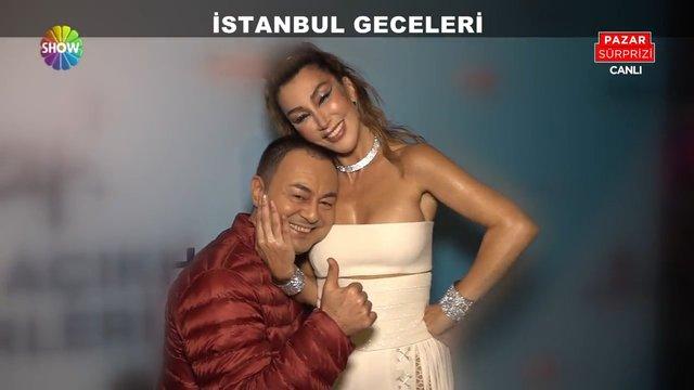 Serdar Ortaç ile Hande Yener'in konser öncesi açıklamaları!