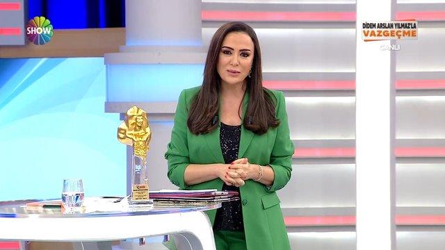 ''Vazgeçme'' gündüz kuşağı televizyon programı ödülünü aldı!