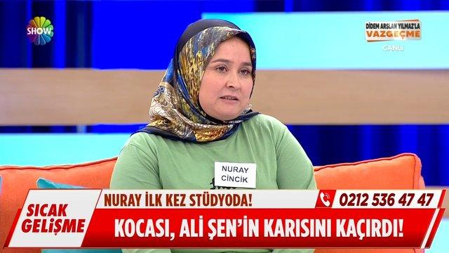 Kocası, Ali Şen'in karısını kaçırdı!