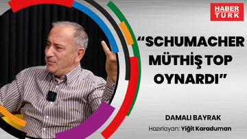 """Fatih Altaylı: """"Schumacher müthiş top oynardı""""   DAMALI BAYRAK"""