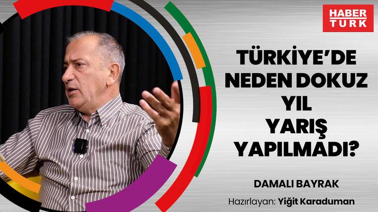 Türkiye'de neden dokuz yıl yarış yapılmadı? Fatih Altaylı cevaplıyor...   DAMALI BAYRAK