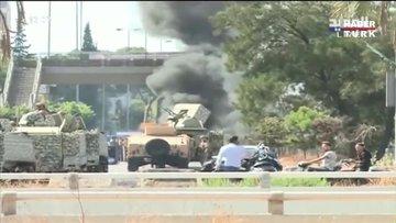 Beyrut'ta protestoculara ateş açıldı