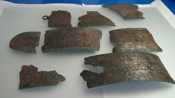 Gümüşhane'de Urartu kemeri bulundu
