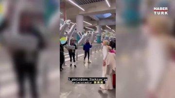 Aleyna Tilki üç günlüğüne Türkiye'ye döndü