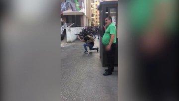 Beyrut'ta silahlı çatışmalar! Rahatlığıyla dikkat çekti