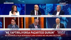 Olaylar ve Görüşler - 16 Ekim 2021 (Kılıçdaroğlu'nun bürokratlara uyarısı ne anlama geliyor?)