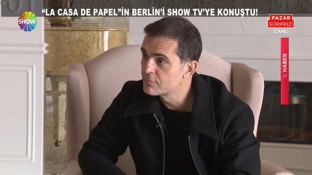 La Casa De Papel'in Berlin'i Pedro Alonso ile çok özel sohbet!