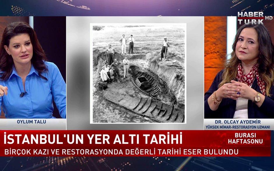 Burası Haftasonu - 17 Ekim 2021 (İstanbul'un yer altı tarihinde neler yatıyor?)