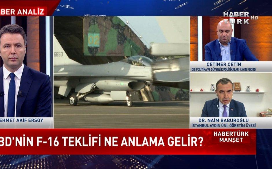 Habertürk Manşet - 18 Ekim 2021 (F-35'ler karşılığında F-16'lar mı?)