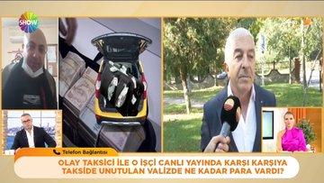 Türkiye'nin konuştuğu taksici canlı yayında!