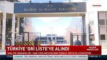 """Türkiye """"Gri Liste'ye"""" alındı"""