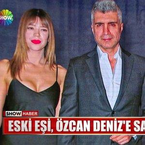 Özcan Deniz, eski eşi Feyza Aktan tarafından saldırıya uğradı!