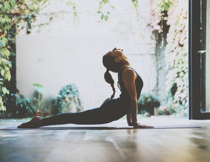 Stresle baş etmek için 4 yoga pozu...