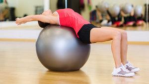 Pilates topu ile yapılabilecek egzersizler