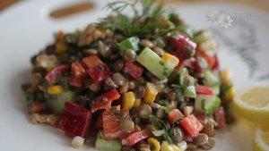 Mercimek salatası nasıl yapılır?