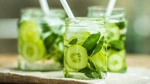 Salatalıklı smoothie nasıl yapılır?