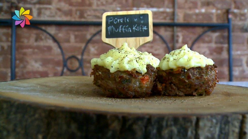 Muffin kalıbında köfte nasıl yapılır?