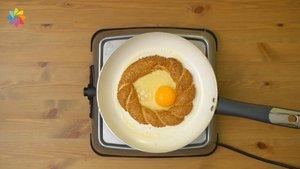 Yumurtalı simit!