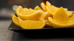 Jöleli limon dilimleri