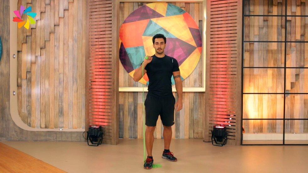 Omuz kasları için egzersiz