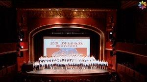 Devlet Opera Balesi Çocuk Korosu ile 23 Nisan kutlaması